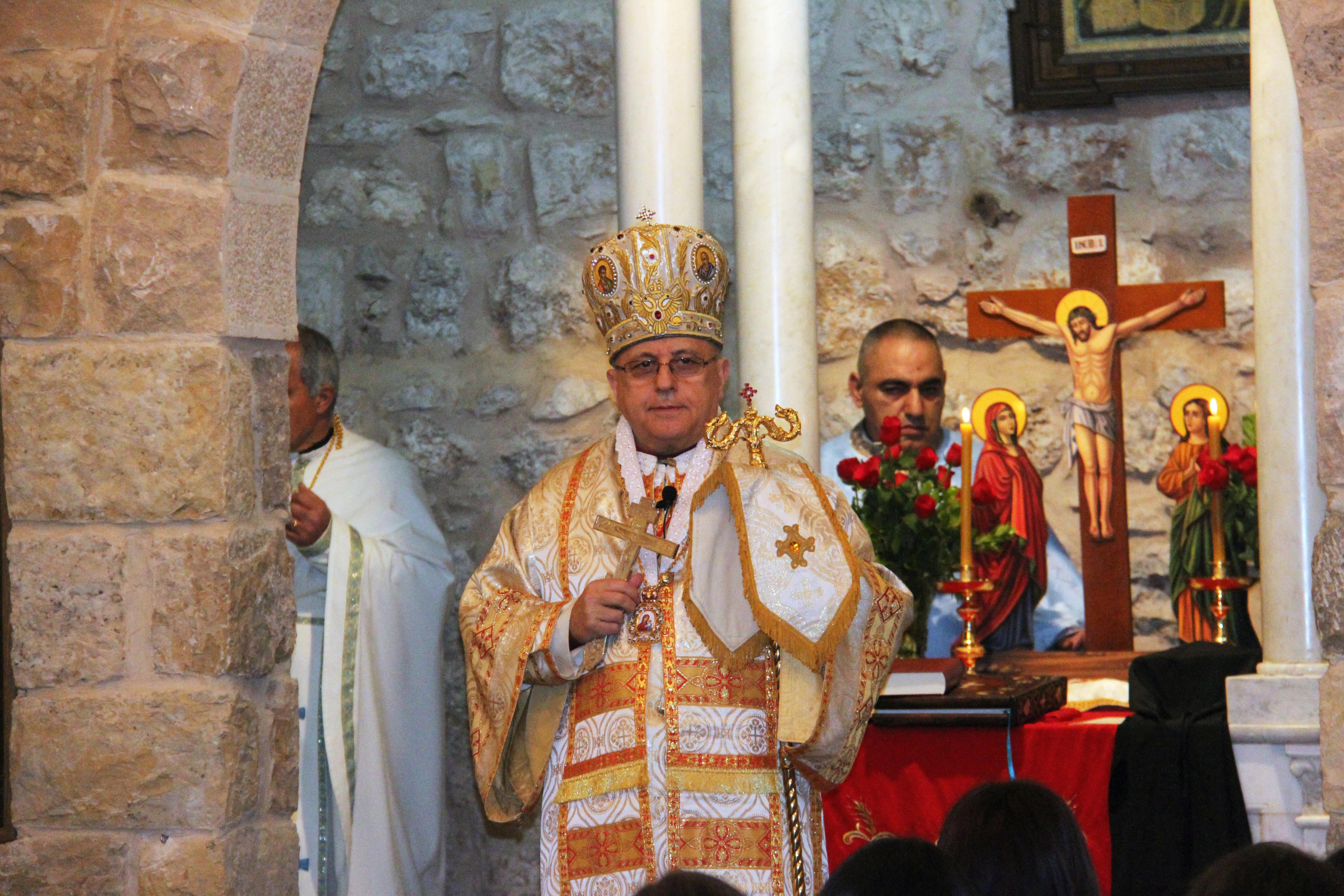 Melkite Catholic Archbishop Issam John Darwish of Zahle