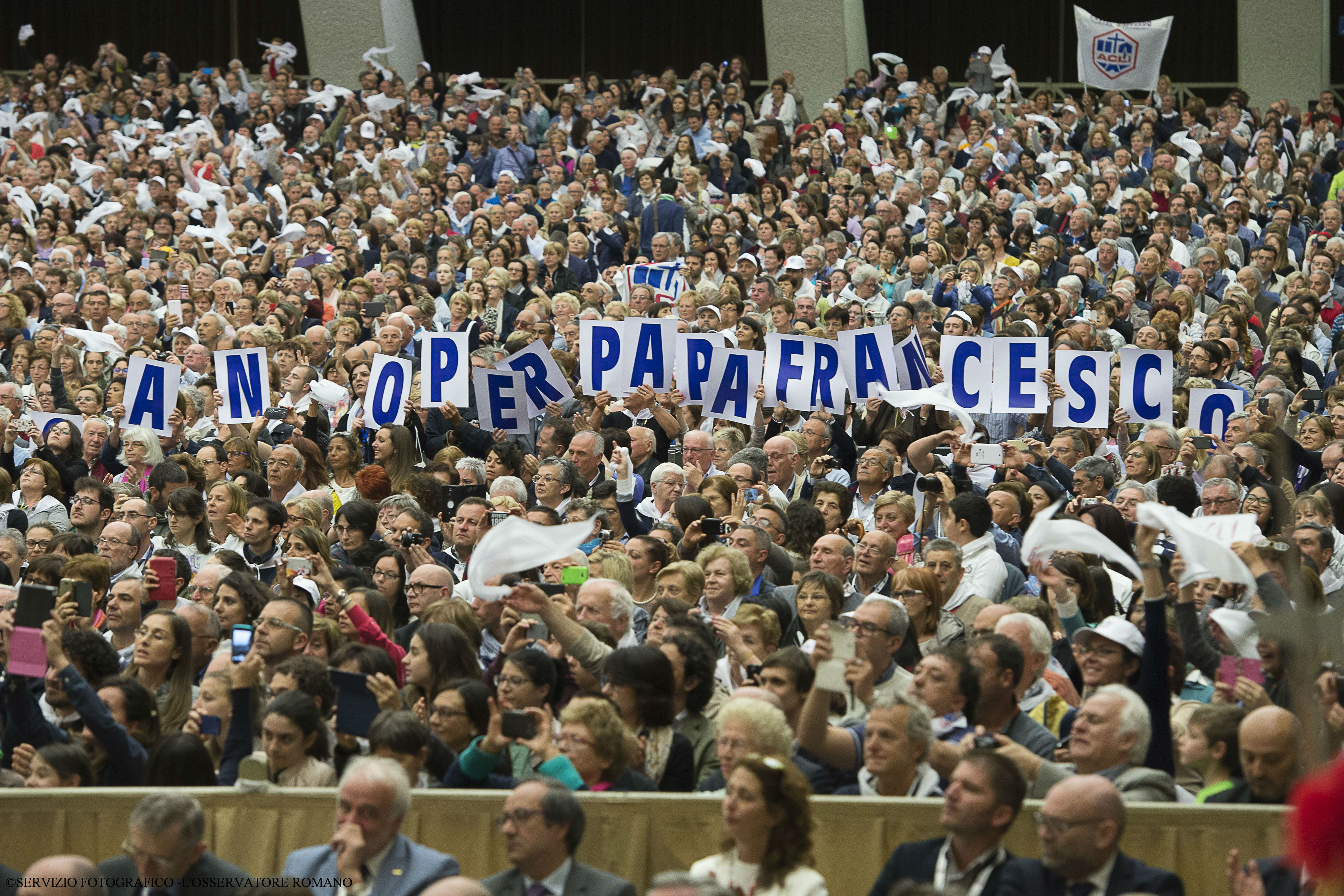 Papal audience for members of the Christian Italian Workers Union (ACLI)