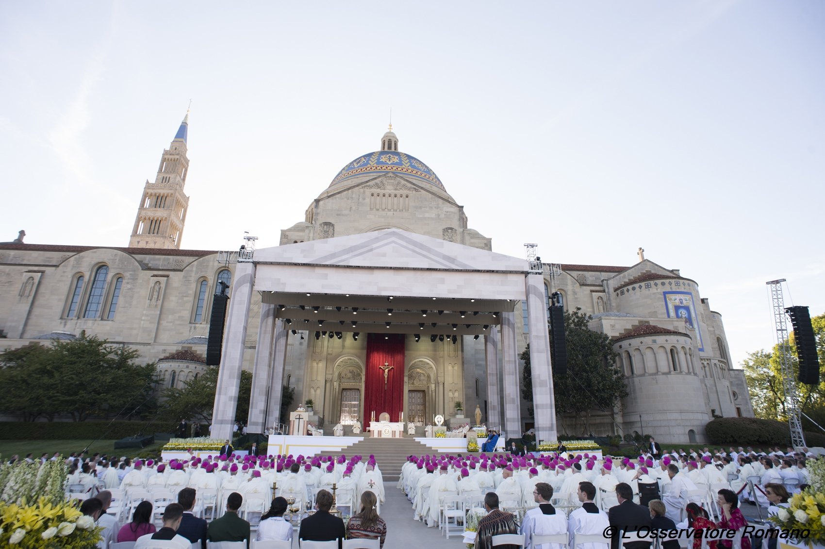 Canonization Mass for Friar Junipero Serra at the Basilica of the National Shrine of the Immaculate Conception