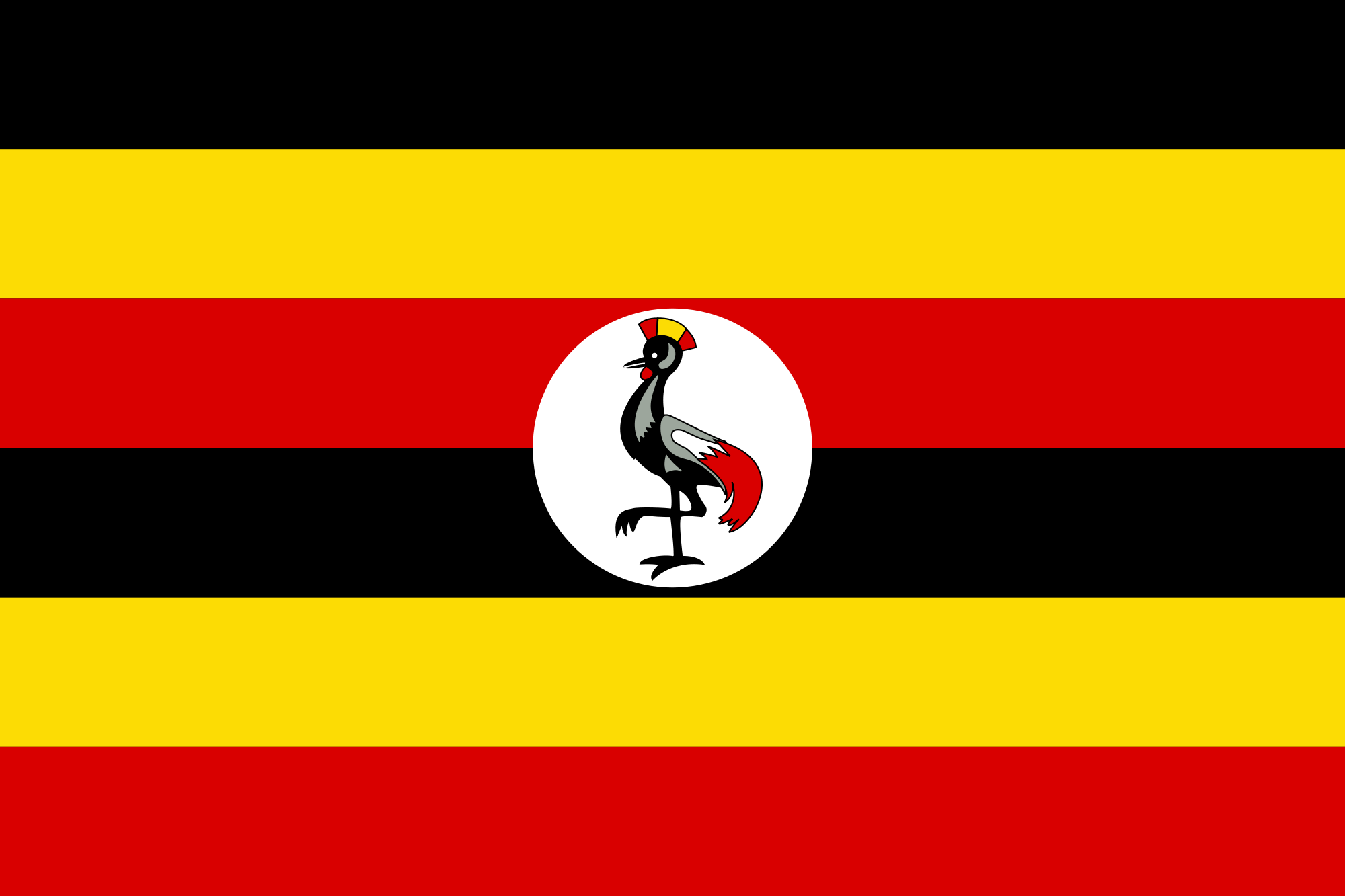 National Flag of Uganda
