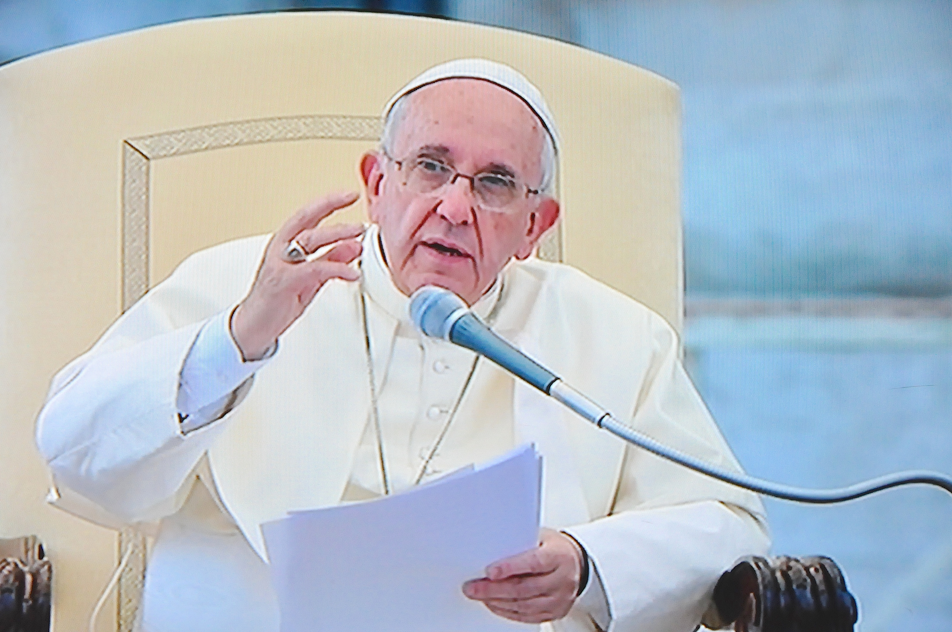 Pope Francis with Charismatic catholic renewal - 3 july 2015