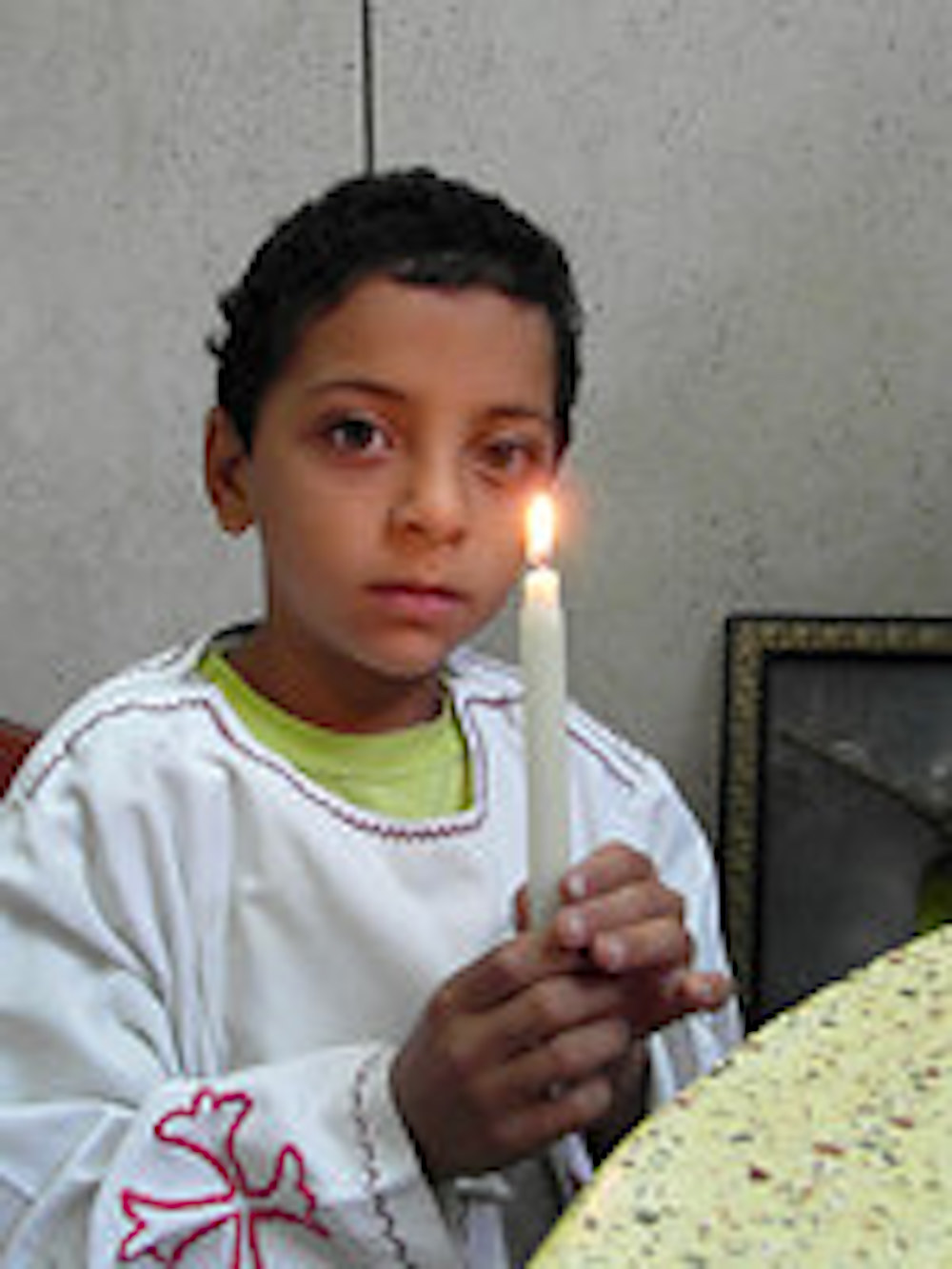 Boy in Egypt