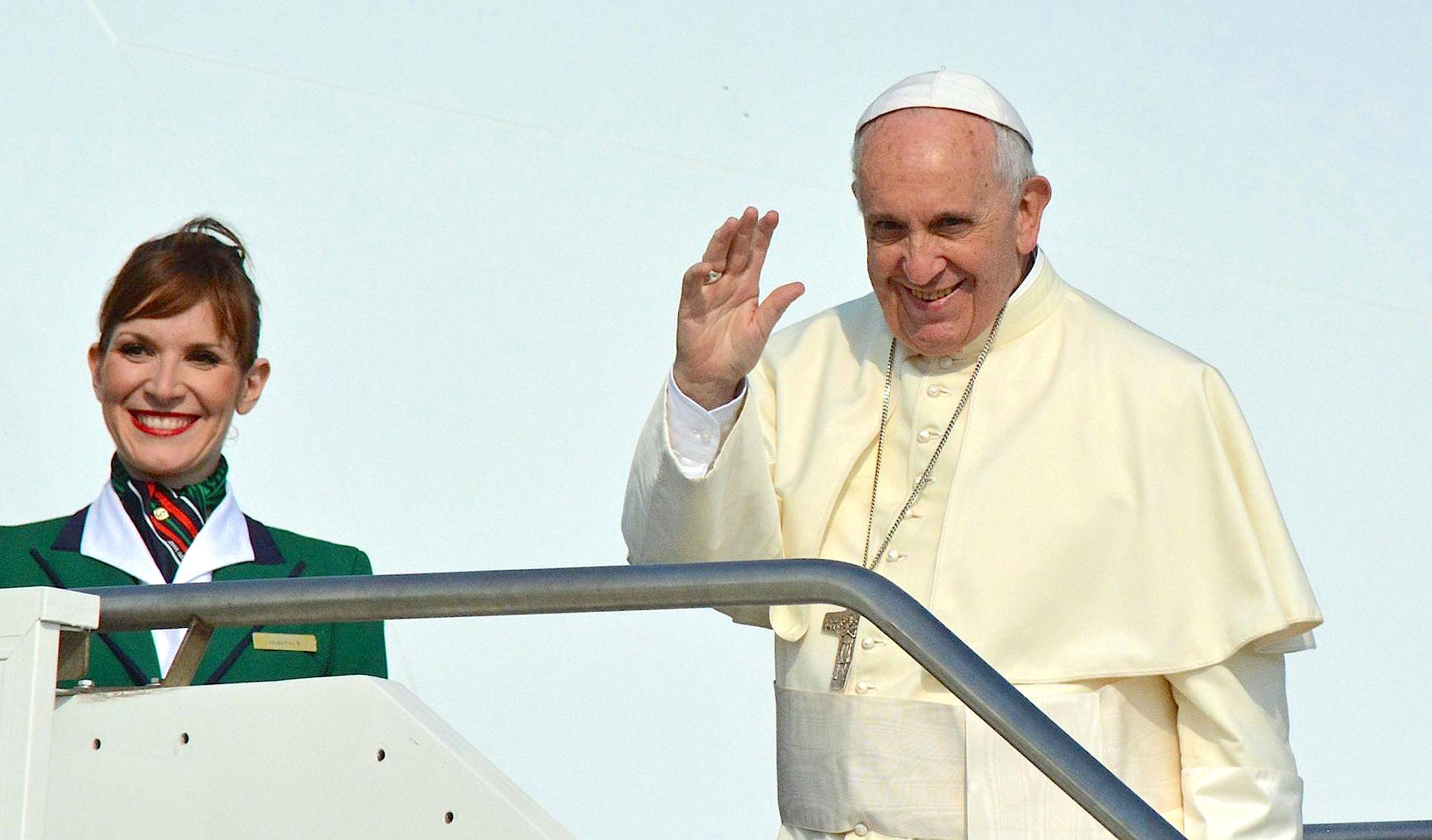 Pope Francis ready to leave Rome