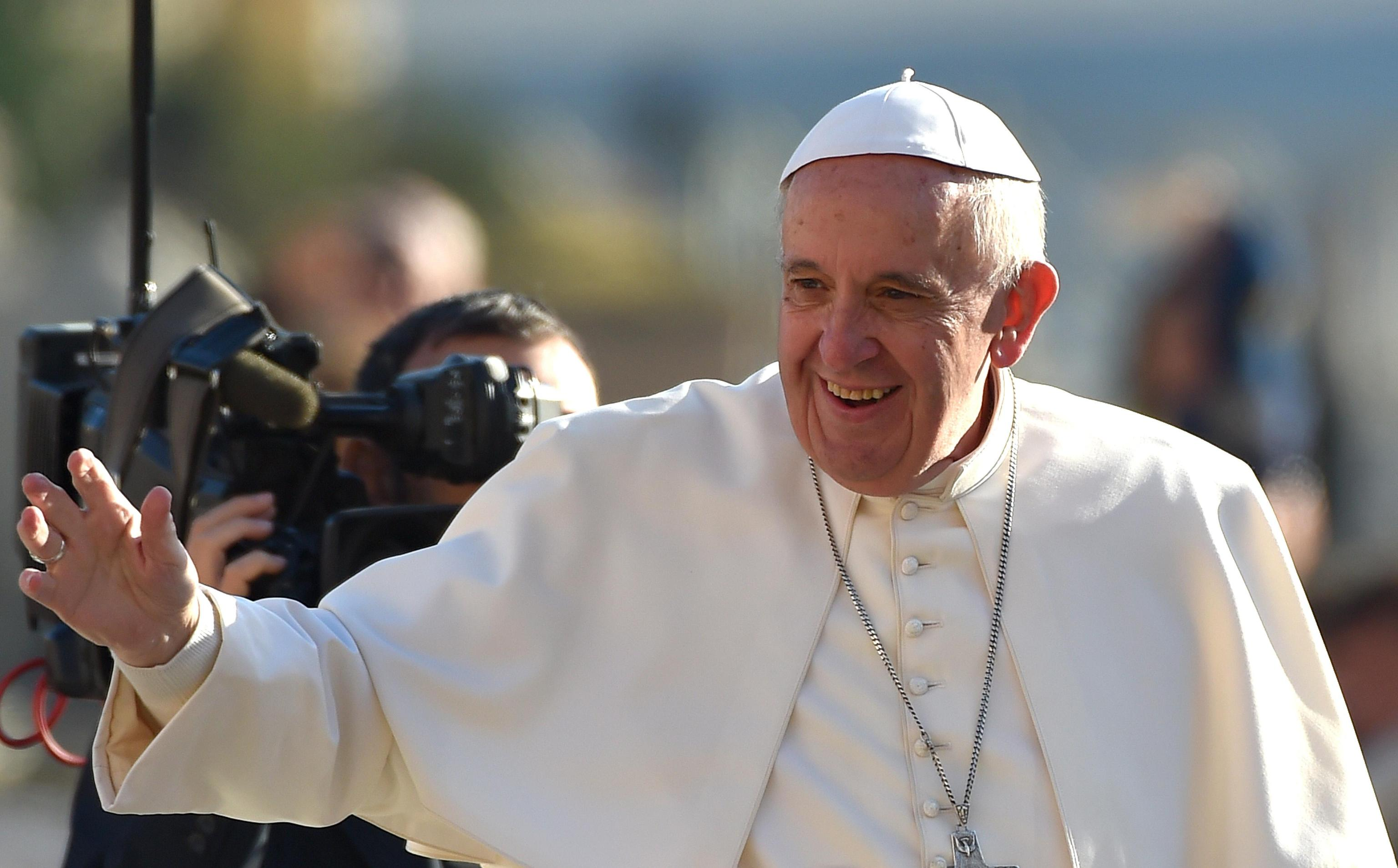 Pope Francis during the General Audience of Wednesday December 2nd 2015