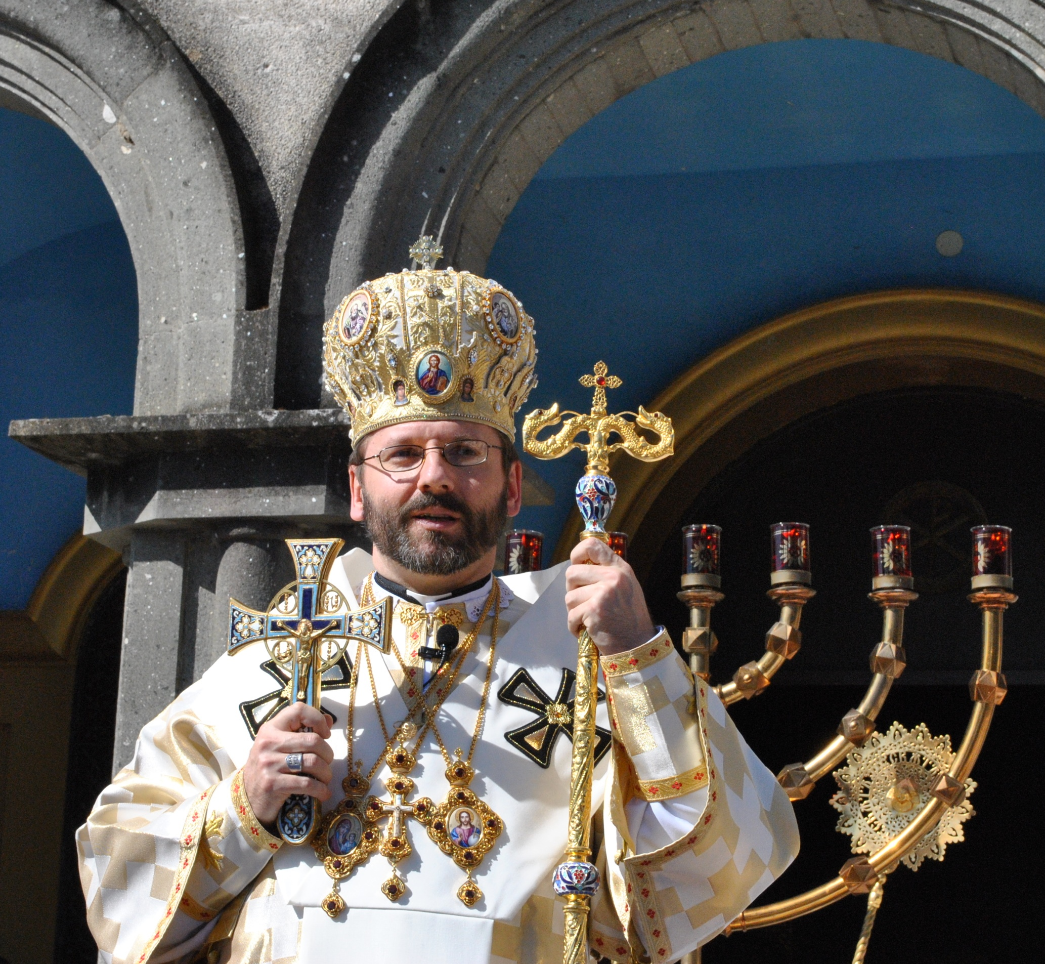 Major Archbishop Sviatoslav Shevchuk of Lvov