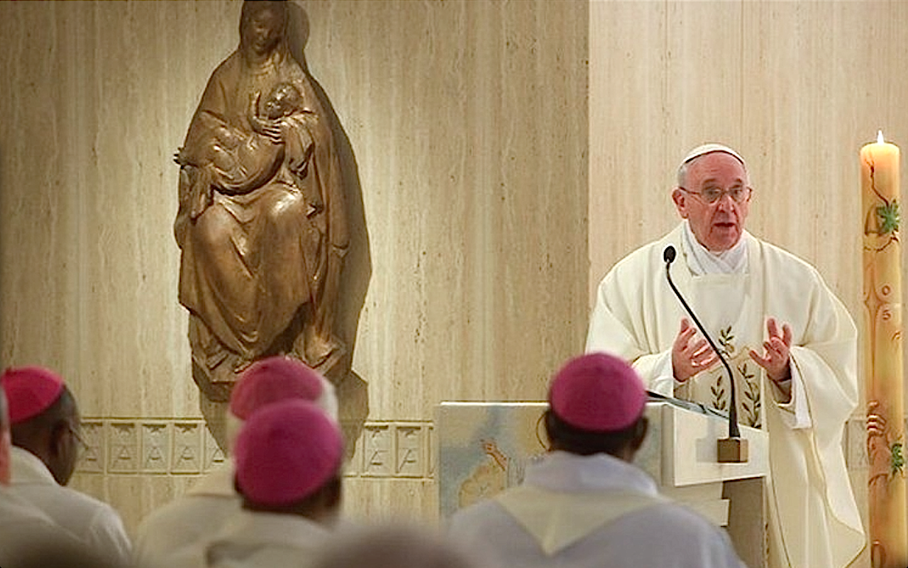 Pope Celebrates Mass at Casa Santa Marta - 4 May