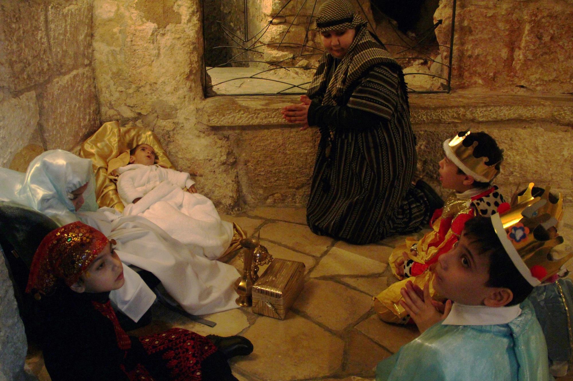 The Nativity Play in Bethlehem