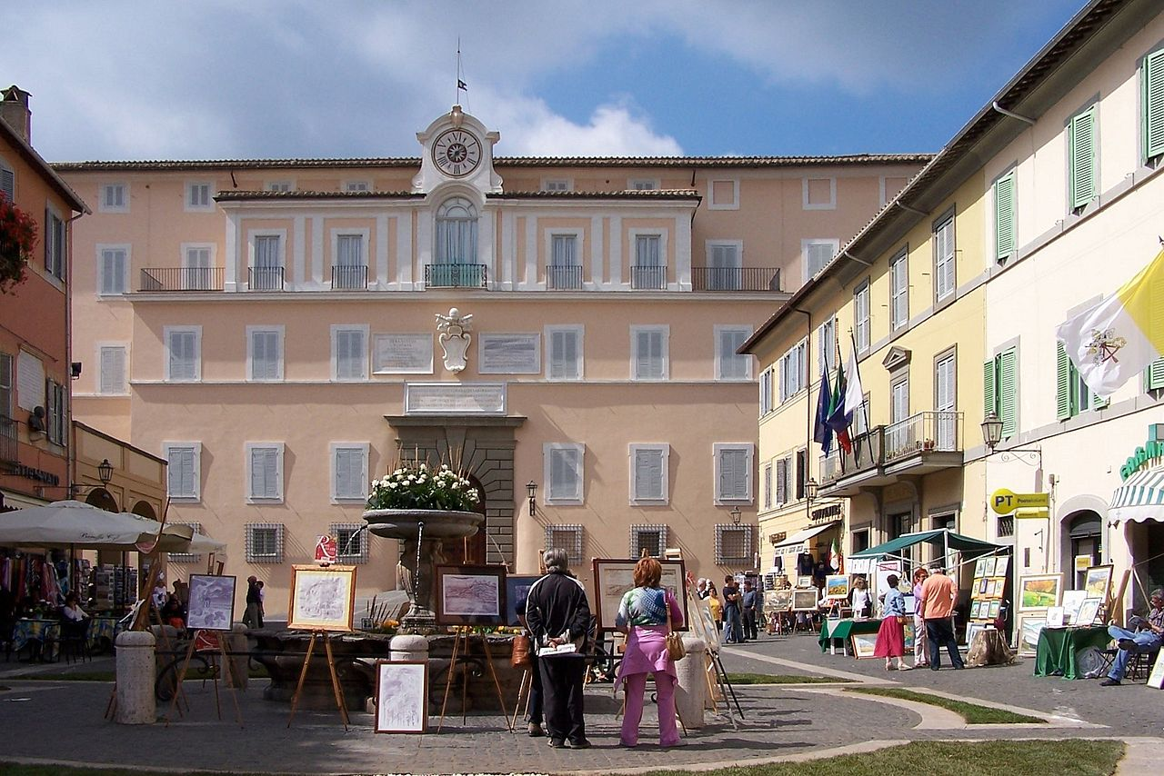 The Papal Palace of Castel Gandolfo