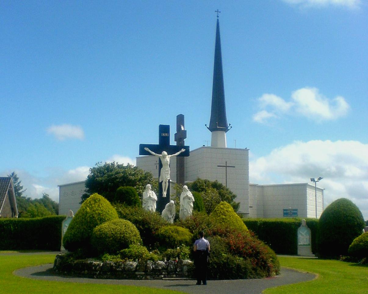 Knock Shrine (Irish: Cnoc Mhuire)