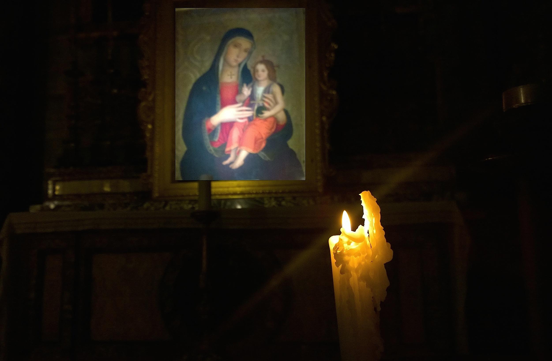 Prayer - church of Santi Apostoli at Rome
