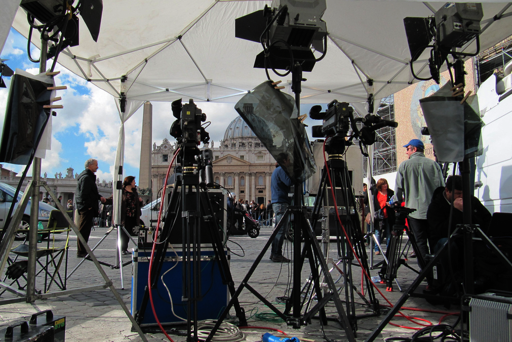 tv and media in the Vatican