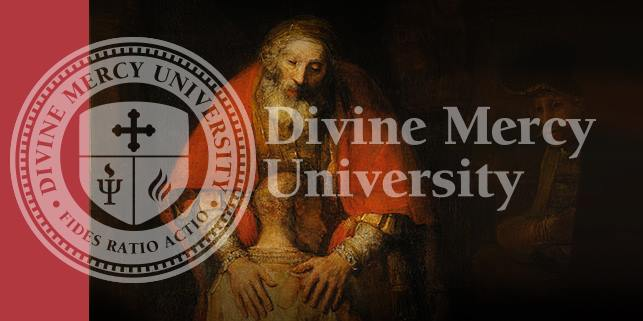 Divine Mercy University logo