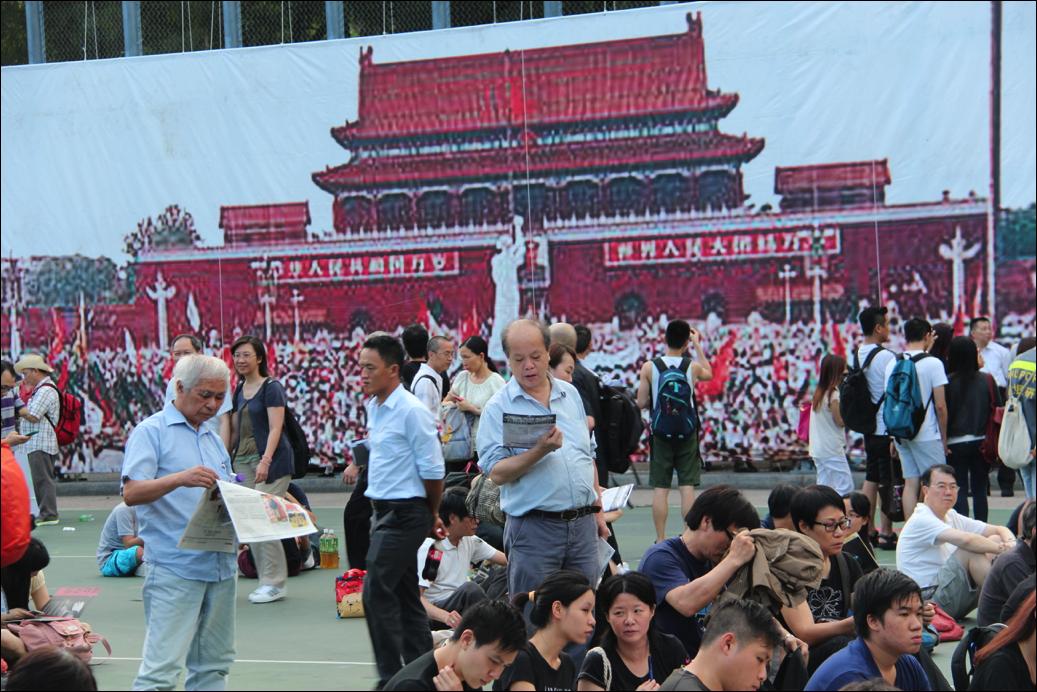 Prayer meeting in Hong Kong to commemorate Tiananmen Square massacre