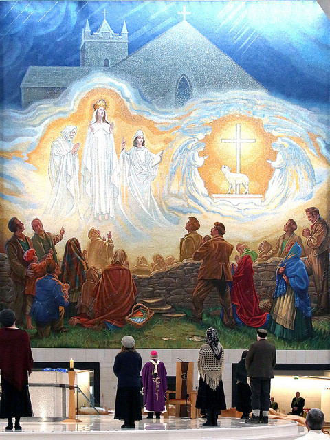 Unveiling of Mosaic of Our Lady of Knock