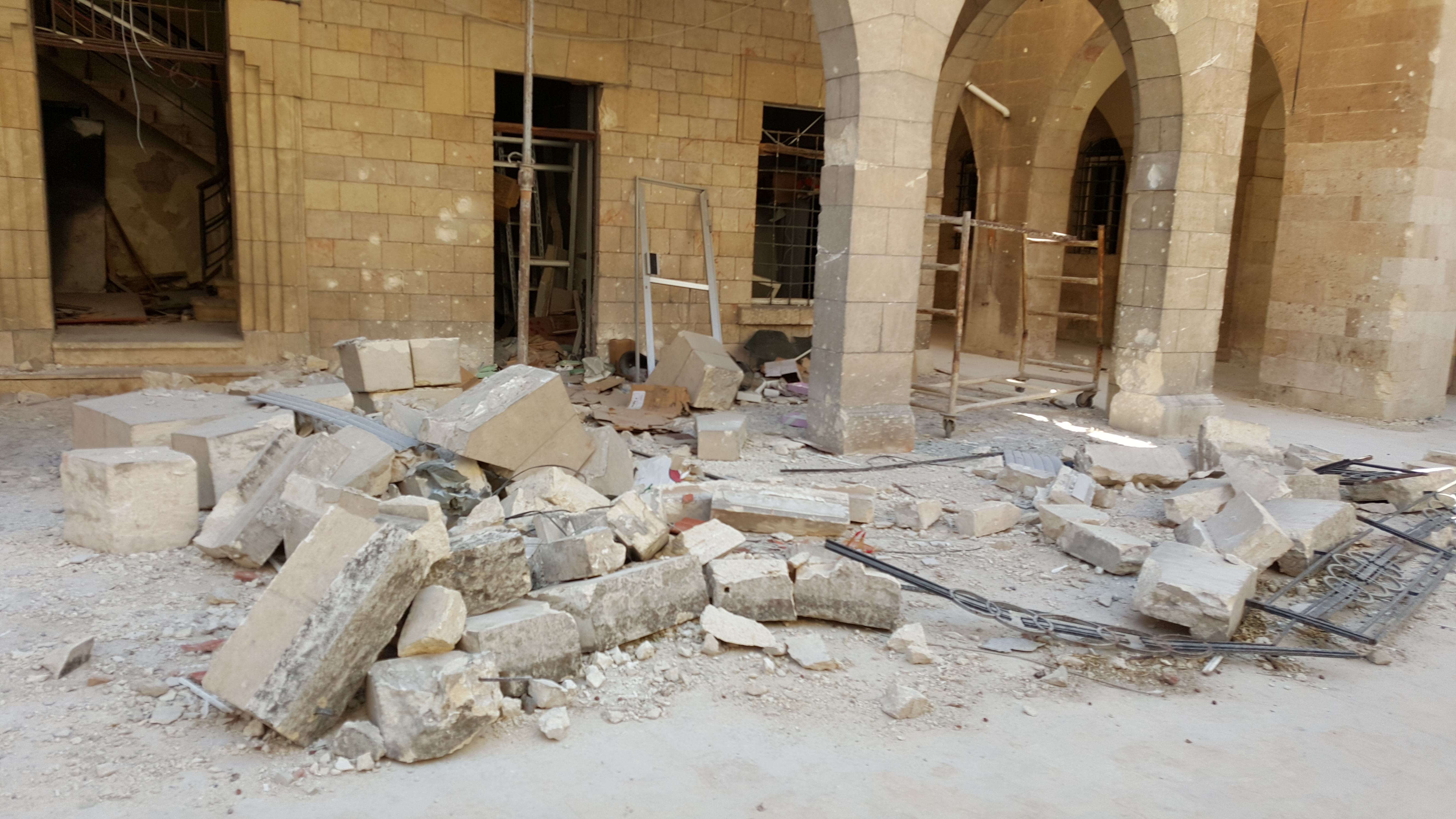 Destruction in Aleppo_Jeanbart - ACN Photo