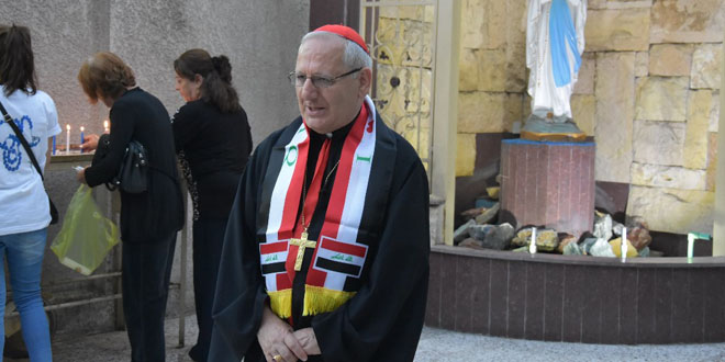 Patriarch Louis R. Sako -Photo Courtesy of the Chaldean Patriarchate of Babylon's Website