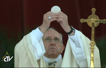 Pope: 'The Eucharist, the Living Memorial of His Love'
