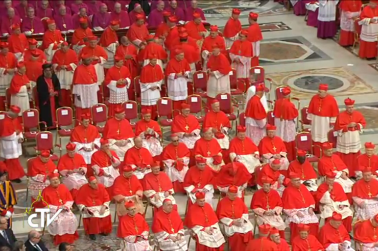 On the Feast of Saints Peter and Paul: Five New Cardinals by the Pope's Side