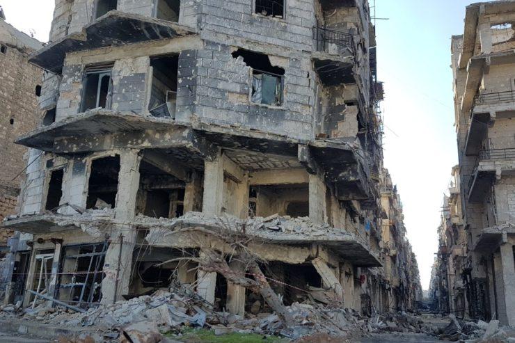 Alep, Syria © Twitter Cor Unum