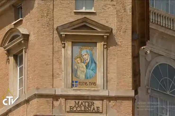 Maray, Mother of the Church, St Peter's Square, CTV