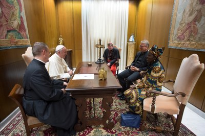 WCC leadership in the Vatican © L'Osservatore Romano