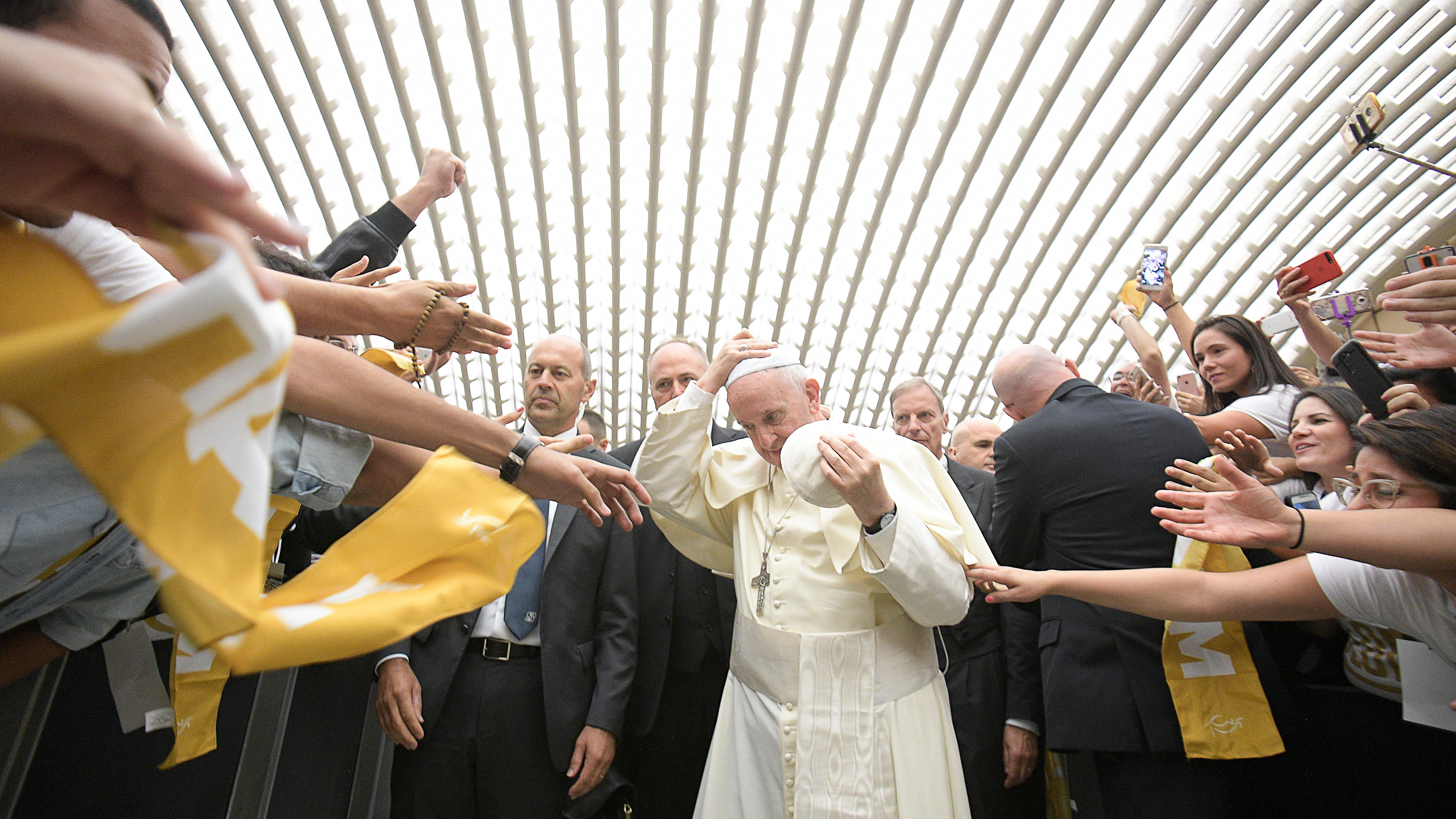 Pope with Shalom Community © L'Osservatore Romano