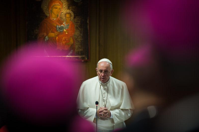 Le Pape François En Prière Catholic Church England And Wales - Mazur/Catholicnews.Org.Uk