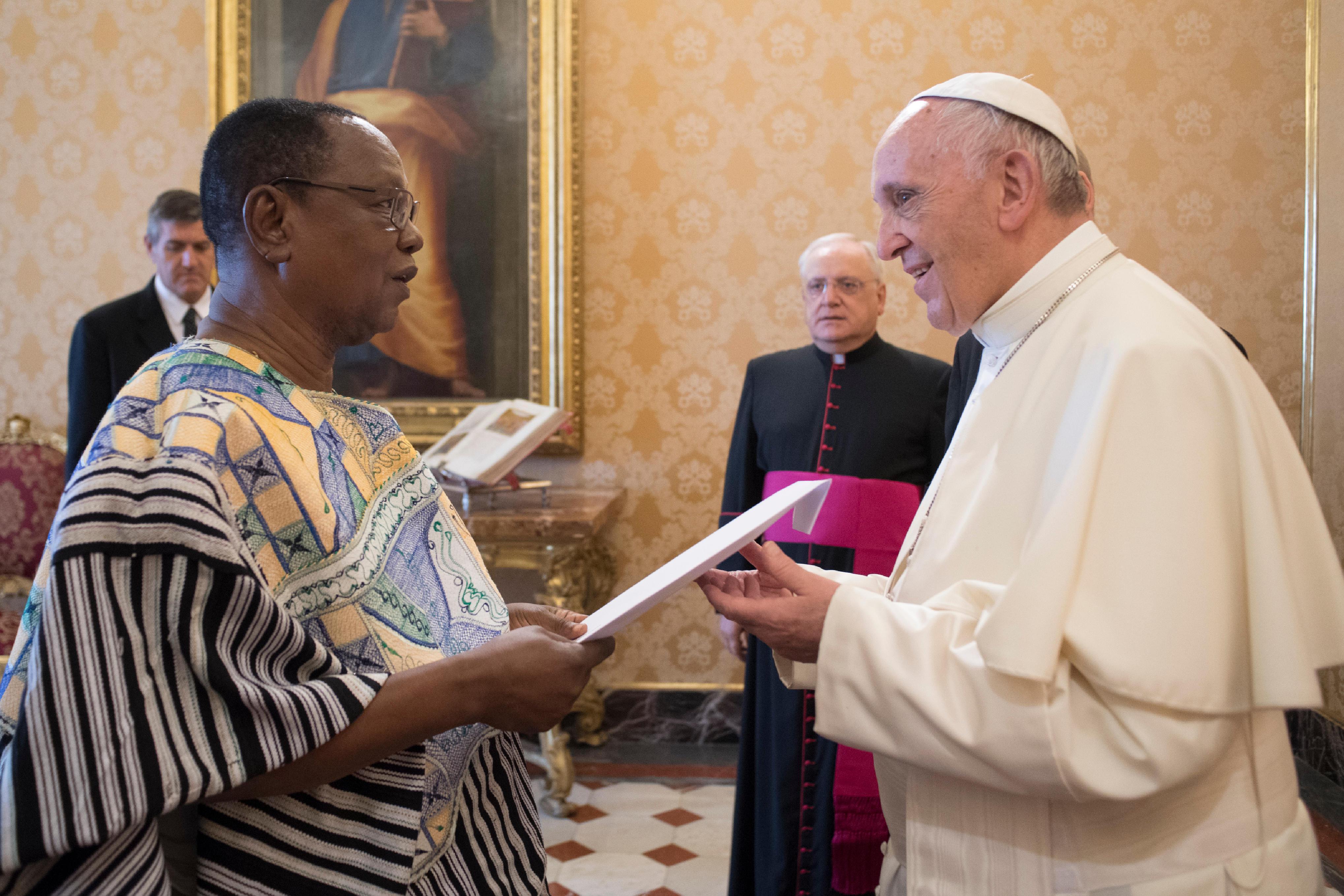 Joseph Kojo Akudibillah, ambassador of Ghana © L'Osservatore Romano