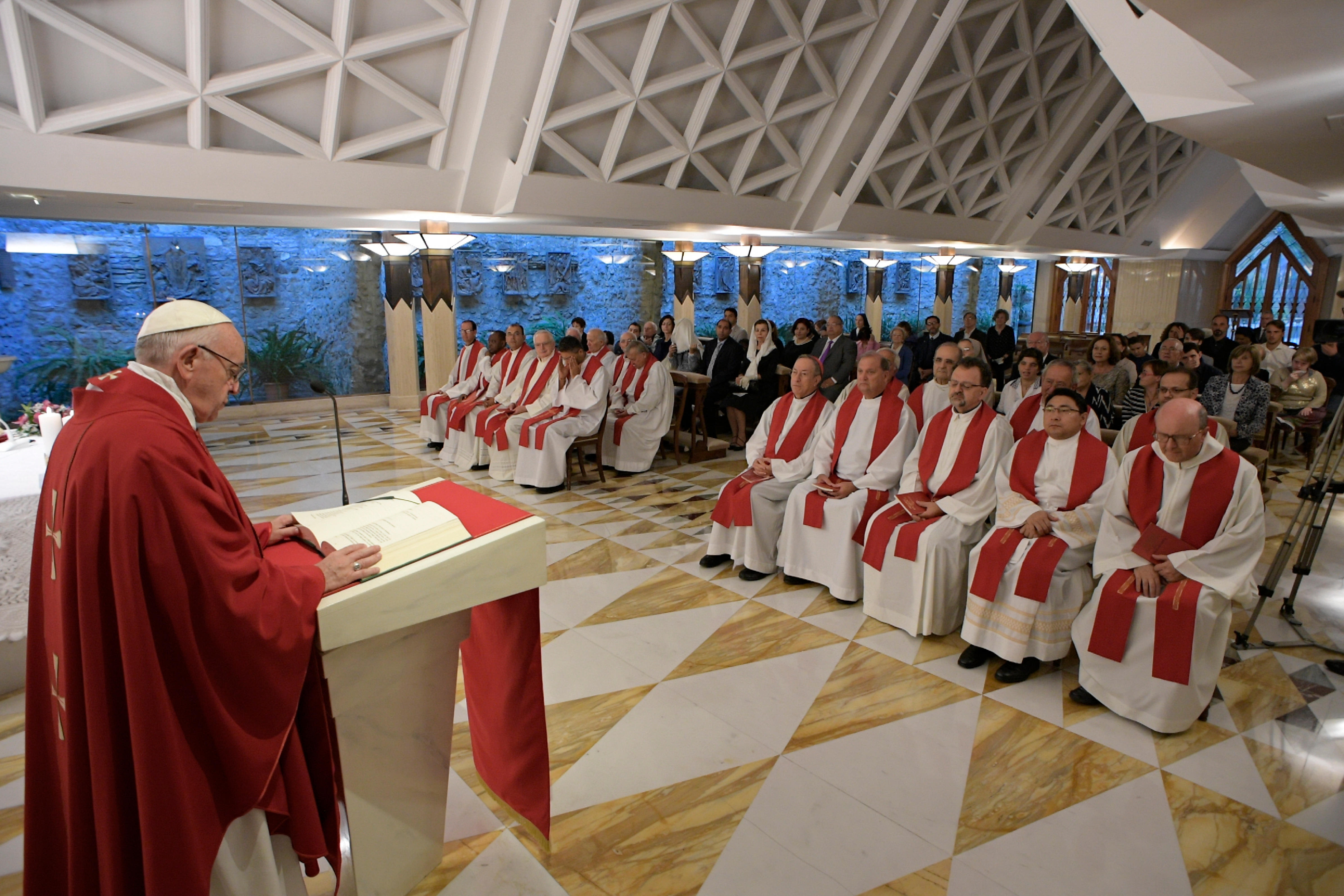 Mass Santa Marta 9.14.17 © Foto L'Osservatore Romano