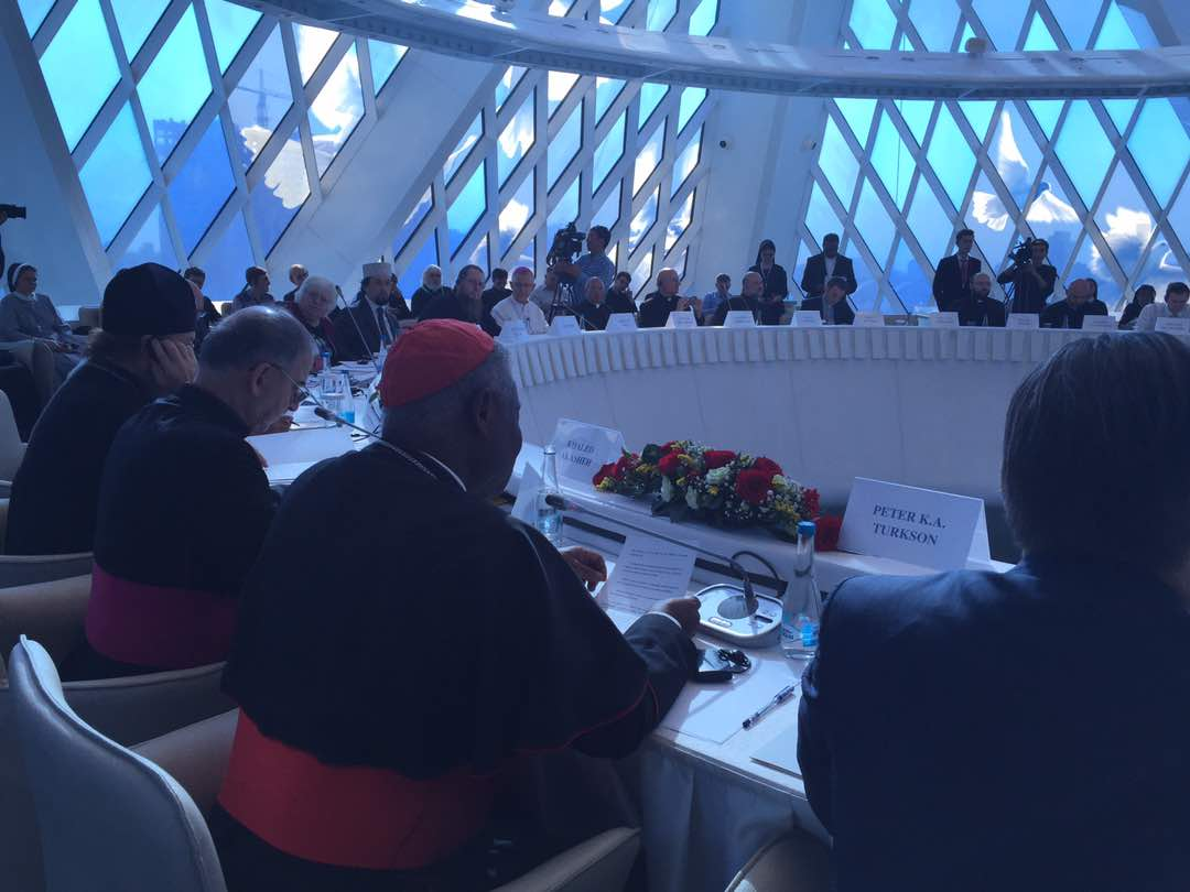 Expo2017, Astana, Interreligious meeting @Twitter Dicastery