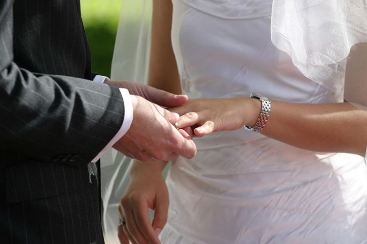 Mariage, Wikimedia Commons © Jason Hutchens Sydney, Australia