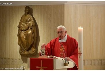 Mass at Santa Marta © L'Osservatore Romano