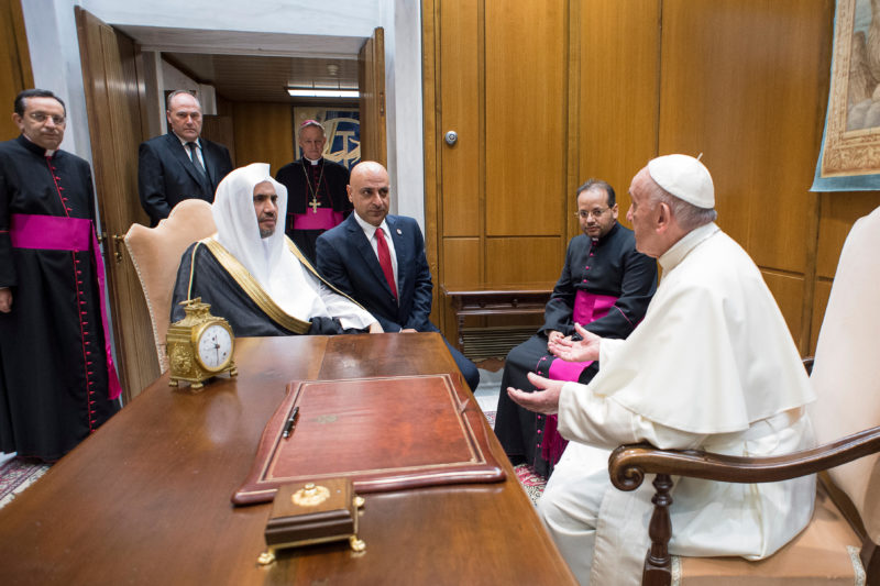 Muhammad Al-Issa, Ligue Islamique Mondiale, Sept. 20, 2017 © L'Osservatore Romano