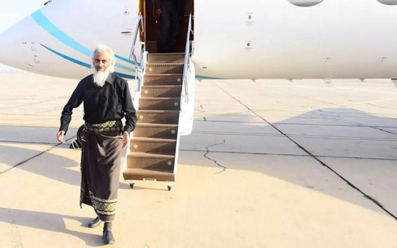 Fr Tom lands in Oman (Oman Ministry of Information)