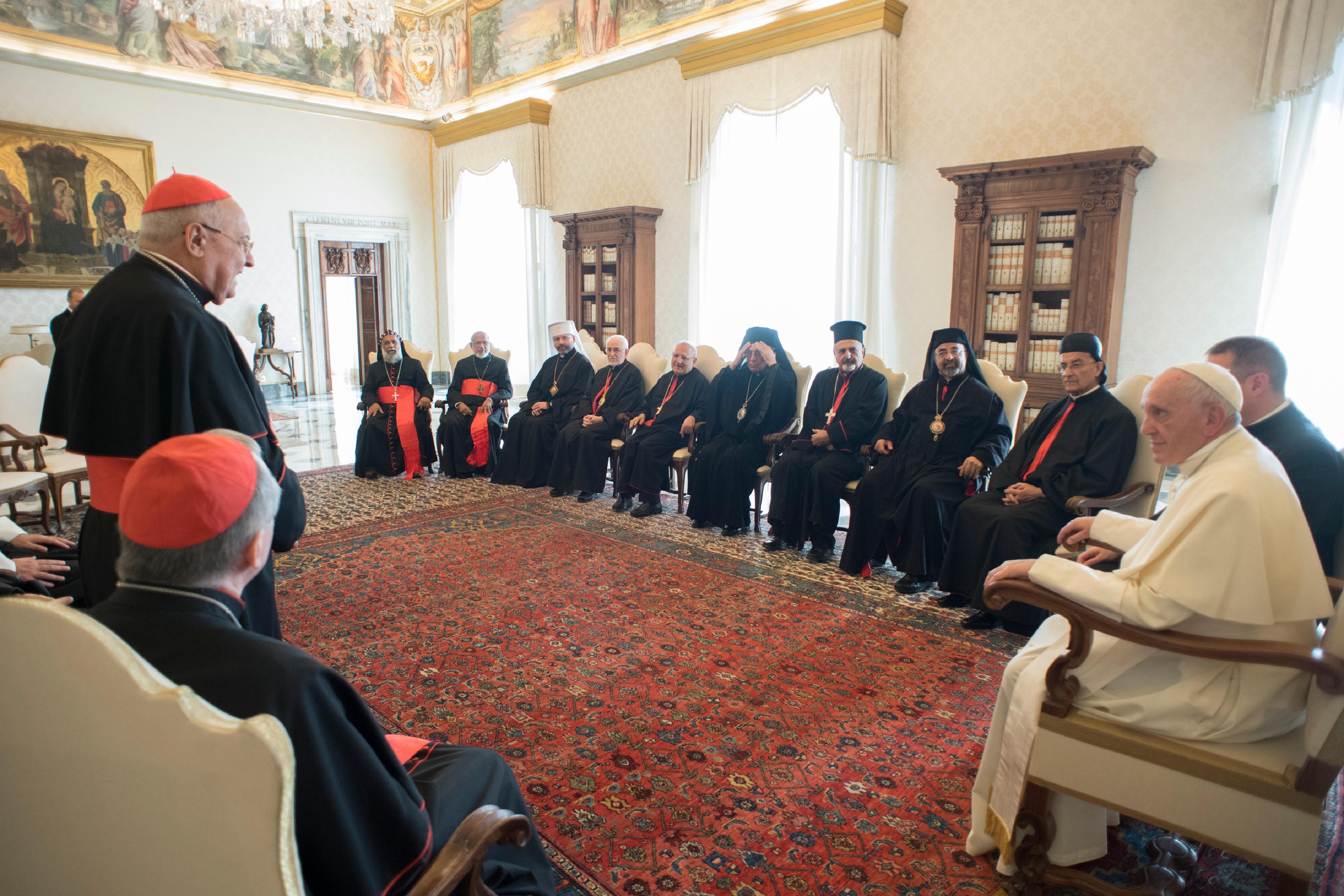 oriental bishops oct 2017 © L'Osservatore Romano
