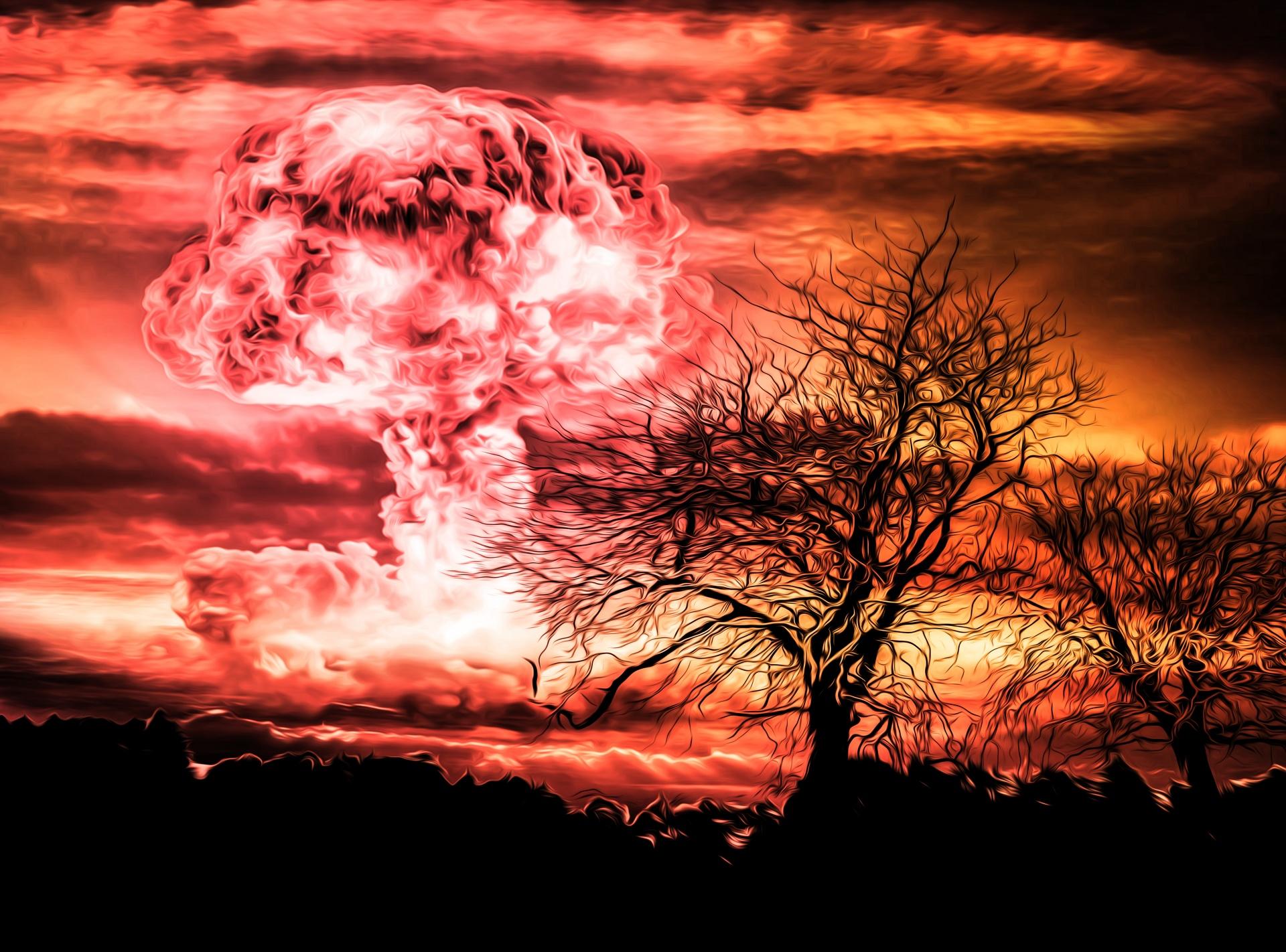 nuclear-bomb-explosion Public Domain Pictures