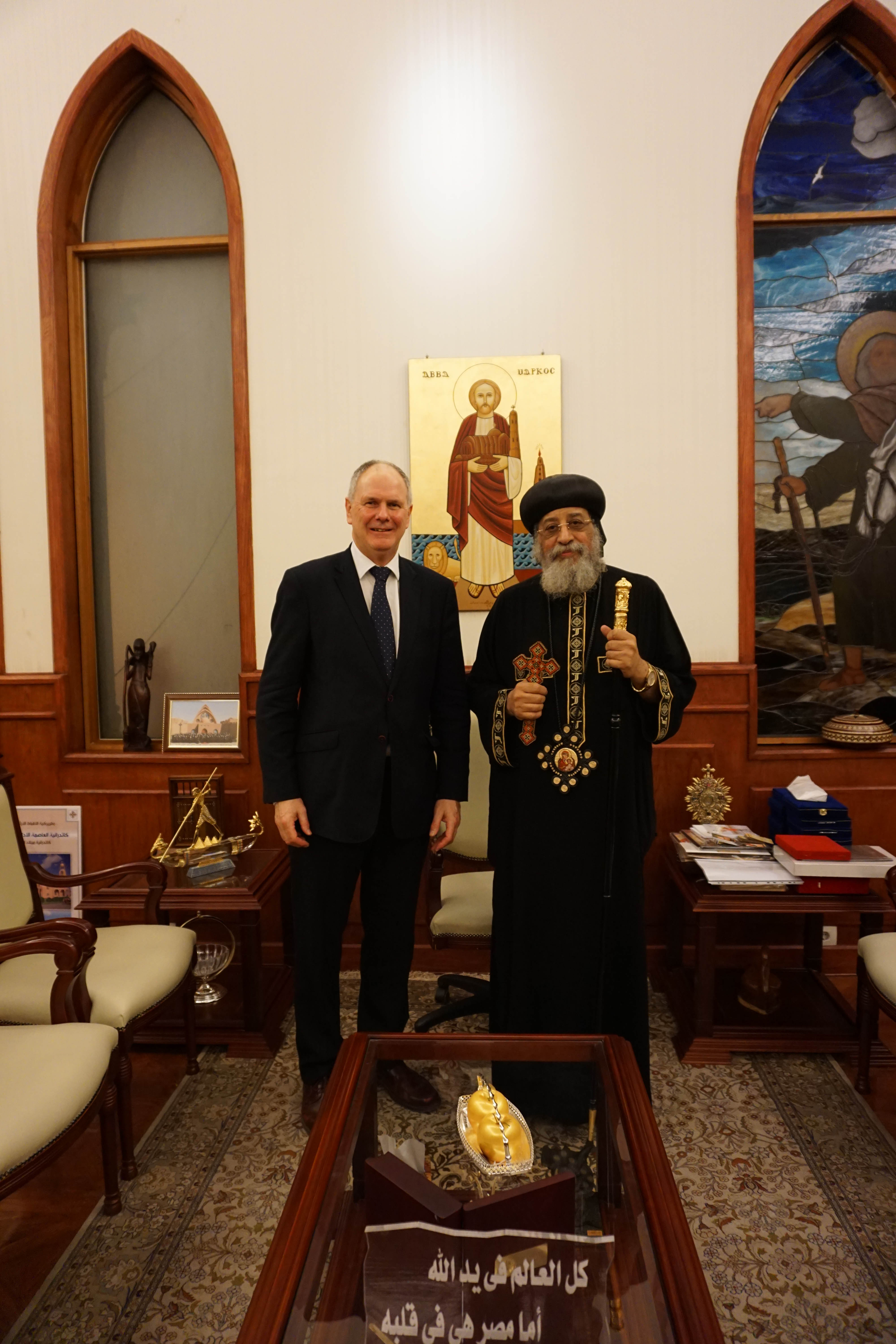 Middle East Head Of Coptic Orthodox Church Requests Aid Zenit