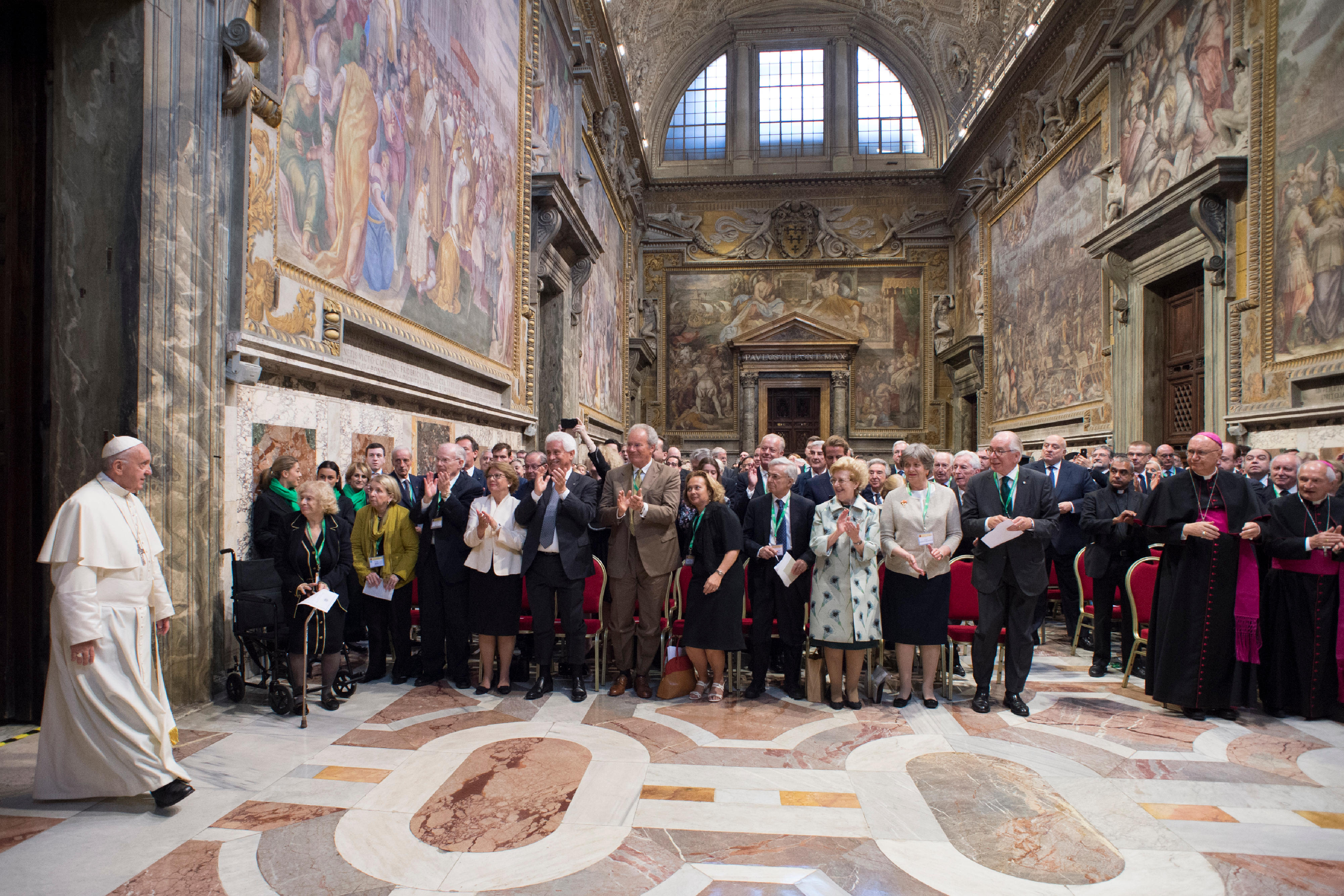 Pope Francis: Economic Crisis Has Ethical Dimension
