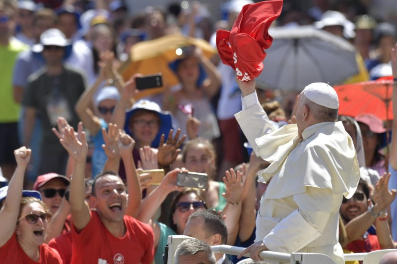 Popes Remarks And Q A With Young People In Circus Maximus Full