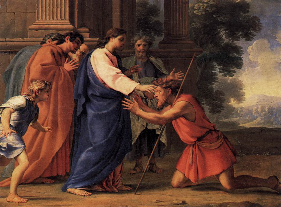 Image result for christ heals the deaf man