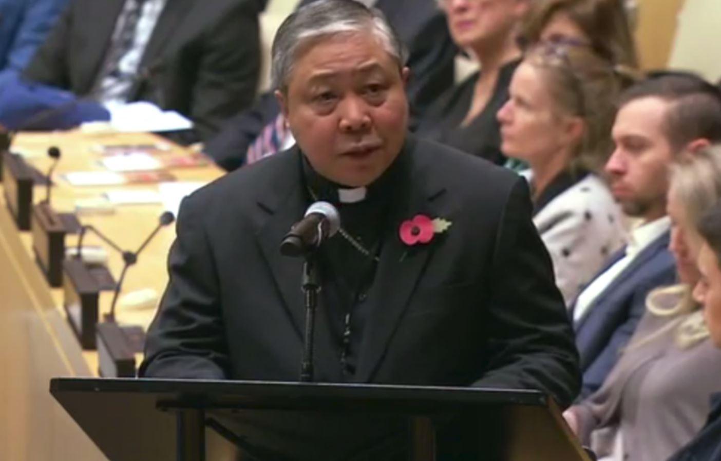 Archbishop Bernardito Auza Urges Stronger Catholic-Muslim