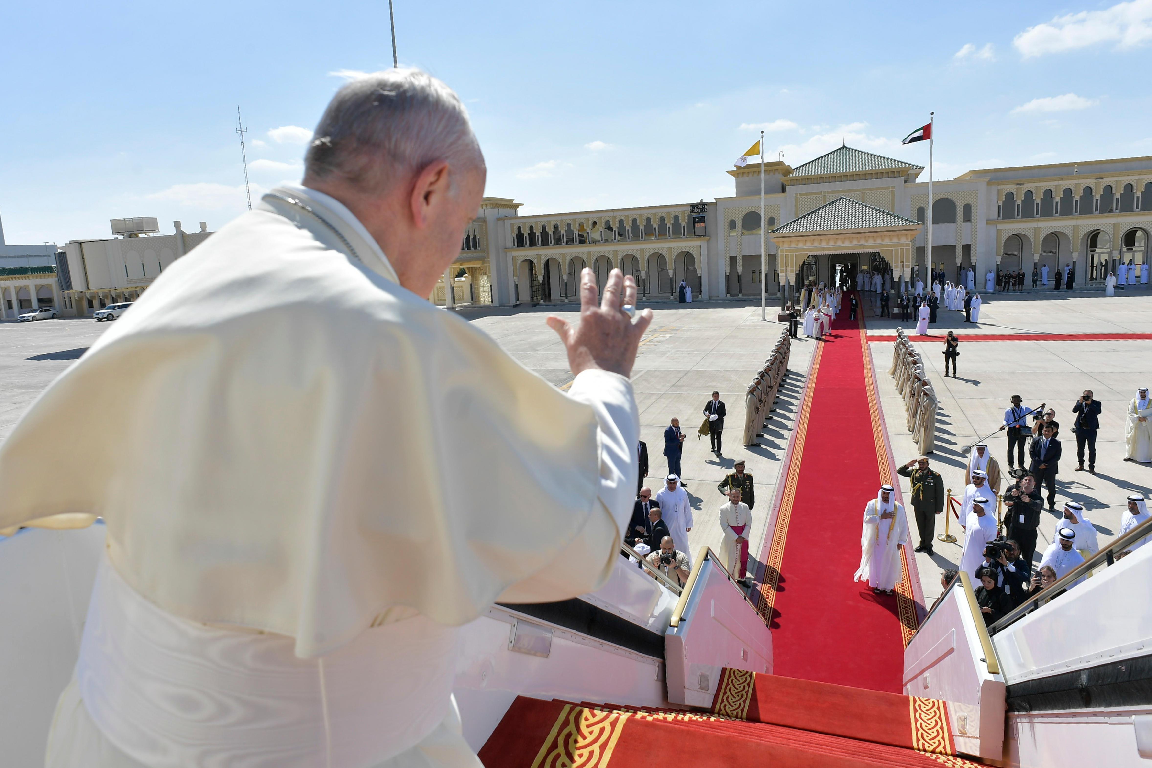 Abu Dhabi: Pope Concludes Apostolic Journey to United Arab