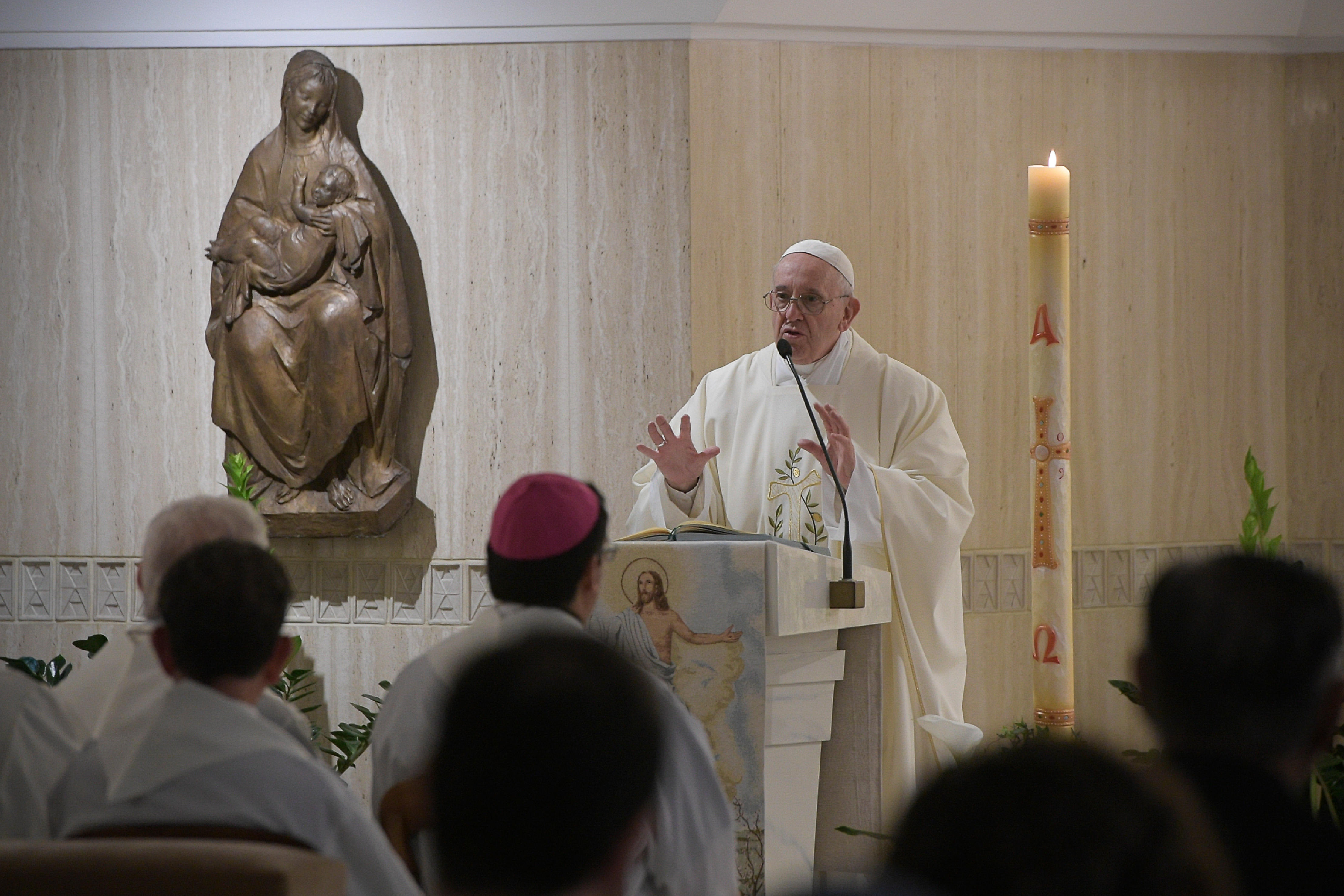 Santa Marta: 'You Must be Born From Above'