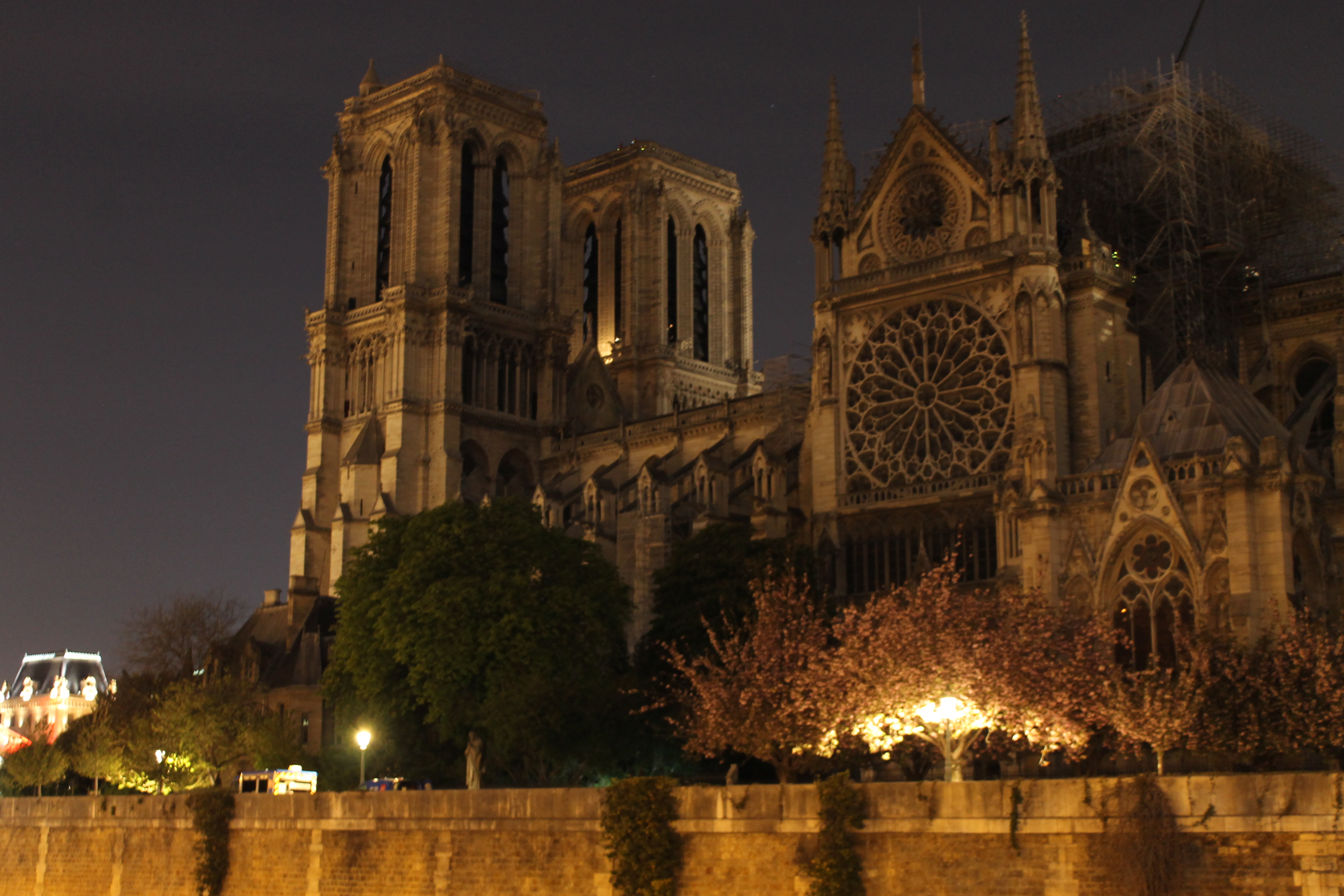 Notre Dame of Paris, 'Notre Dame of the Heart,' One Month