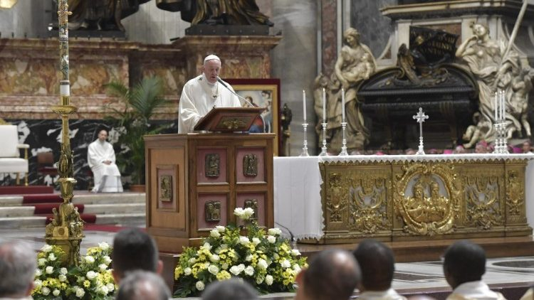 Pope to Caritas: The Gospel Is Our Program of Life (Full Homily)