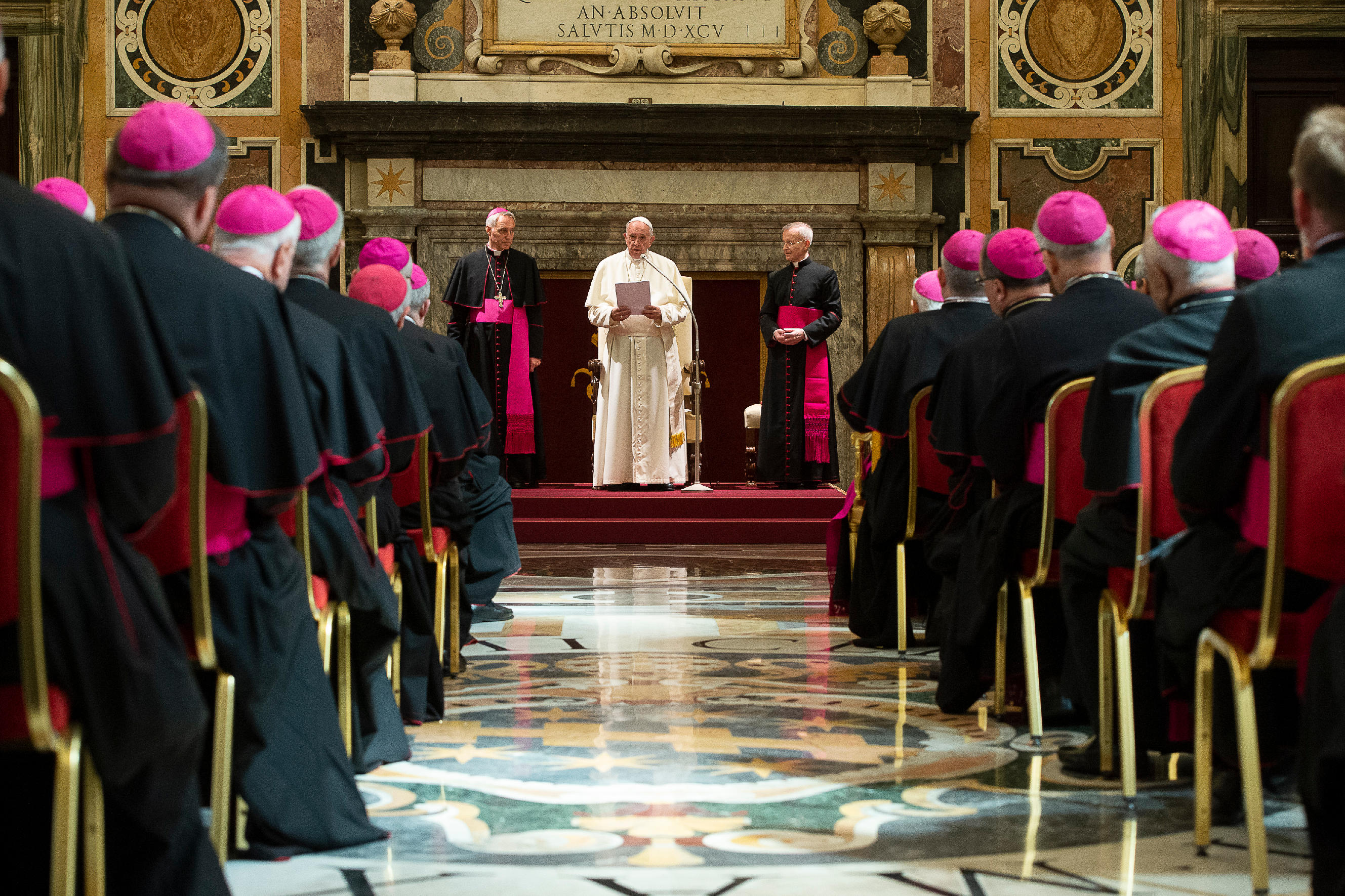 Image result for Francis and Nuncios